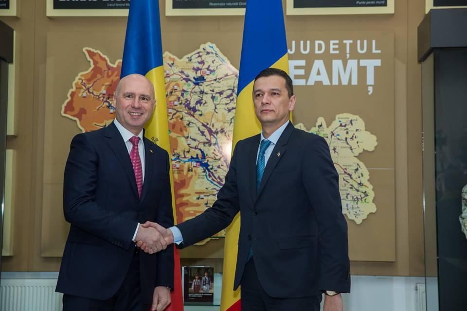 [VIDEO] Declarațiile premierilor României și Moldovei în cadrul ședinței comune de joi de la Piatra Neamț