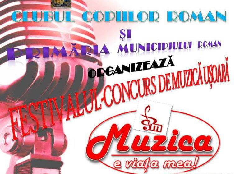 """Festivalul concurs județean """"Muzica e viața mea"""" are loc în Piața """"Roman Vodă"""""""