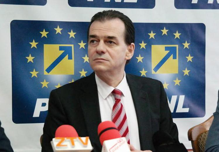 """Ludovic Orban """"descinde"""" la PNL Neamț, pentru restabilirea armoniei"""