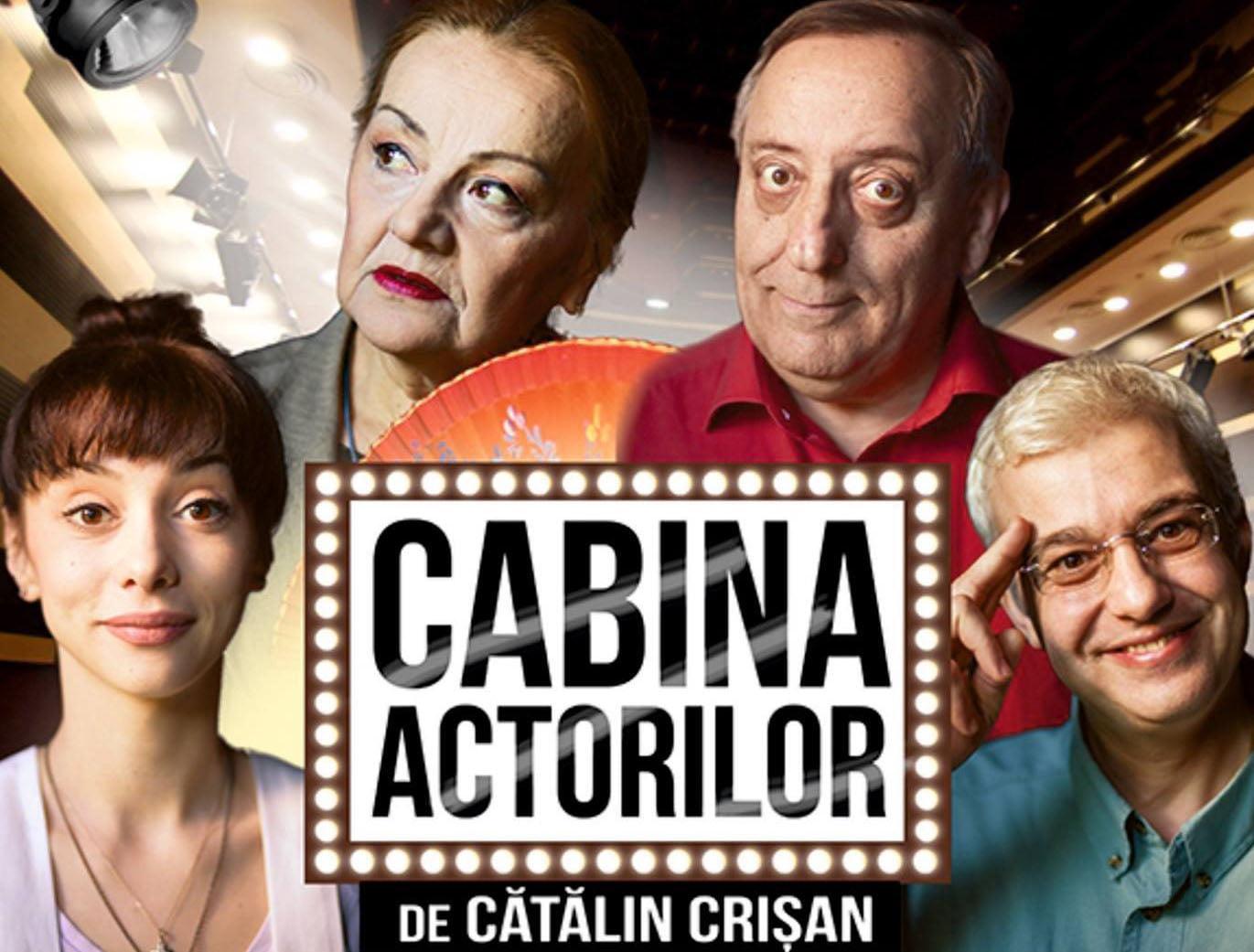 """Comedia """"Cabina actorilor"""", pe scena Casei de Cultură din Roman"""