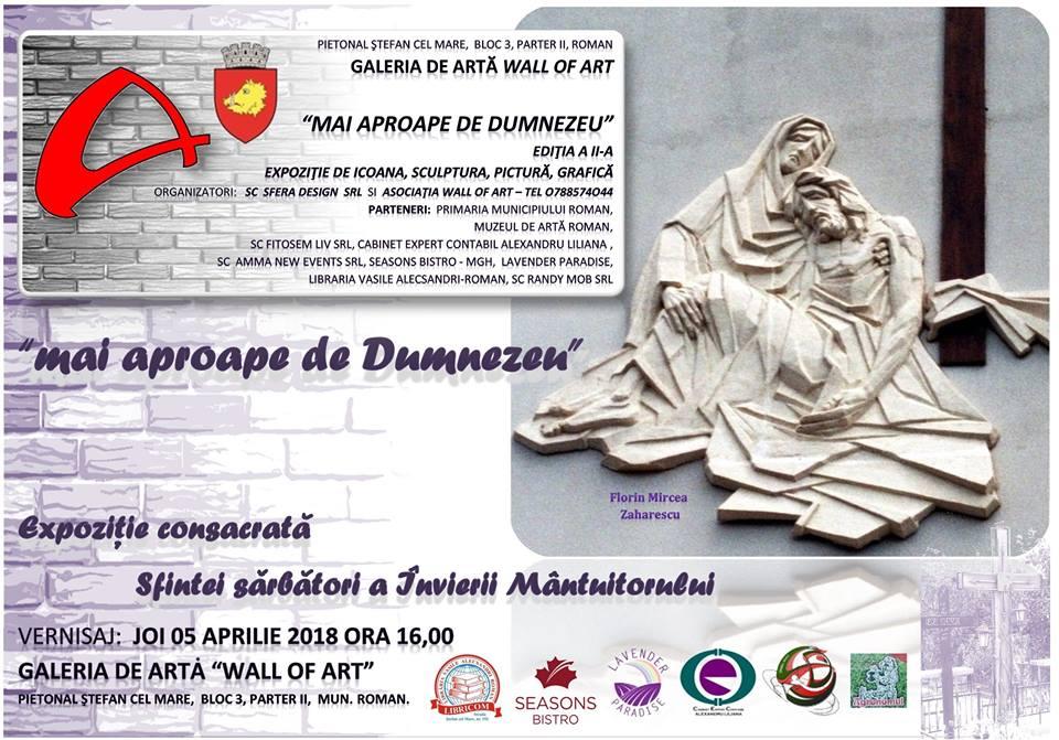 """Expoziție dedicată sărbătorii Învierii, la Galeria """"Wall of Art"""""""