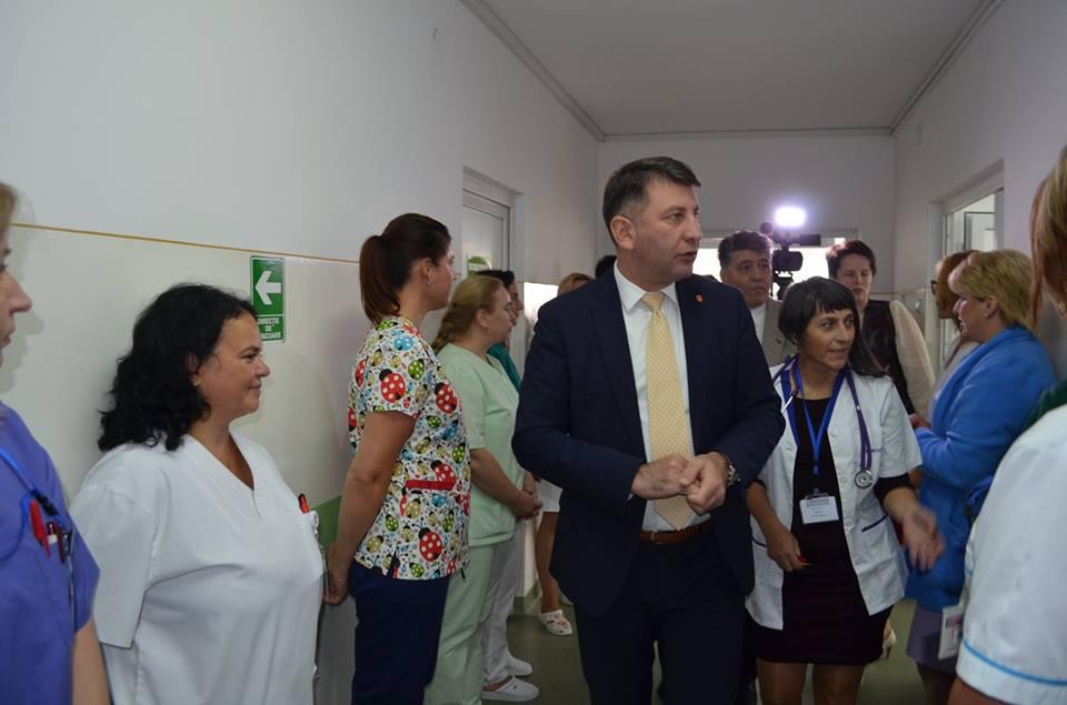 Compartiment de îngrijiri paliative la Spitalul Municipal de Urgență Roman