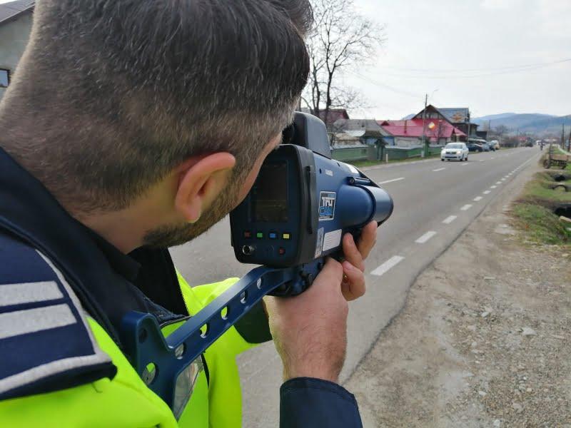 Toate radarele Poliției sunt scoase pe șosele, în acest weekend