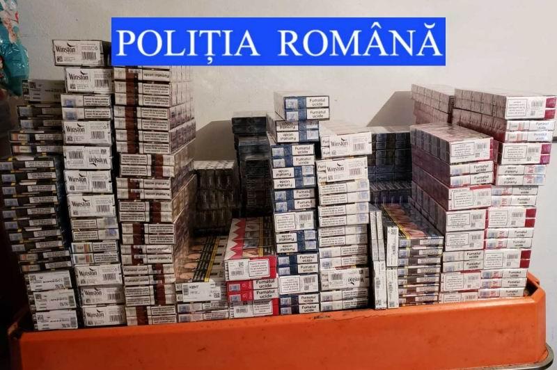 Percheziții la Cordun, 47.000 de țigări confiscate