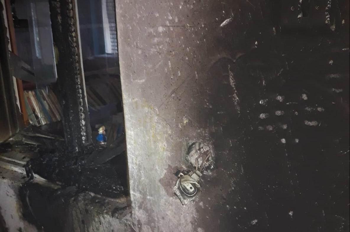 Incendiu la Nisiporești, de la un scurtcircuit