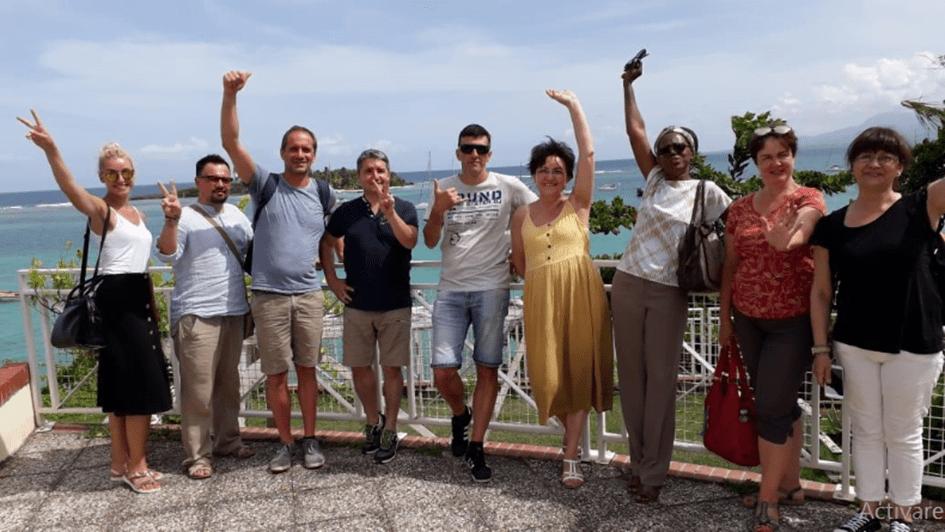 """Liceul """"Vasile Sav"""", reprezentat la întâlnirea de proiect Erasmus+ în Guadelupa"""
