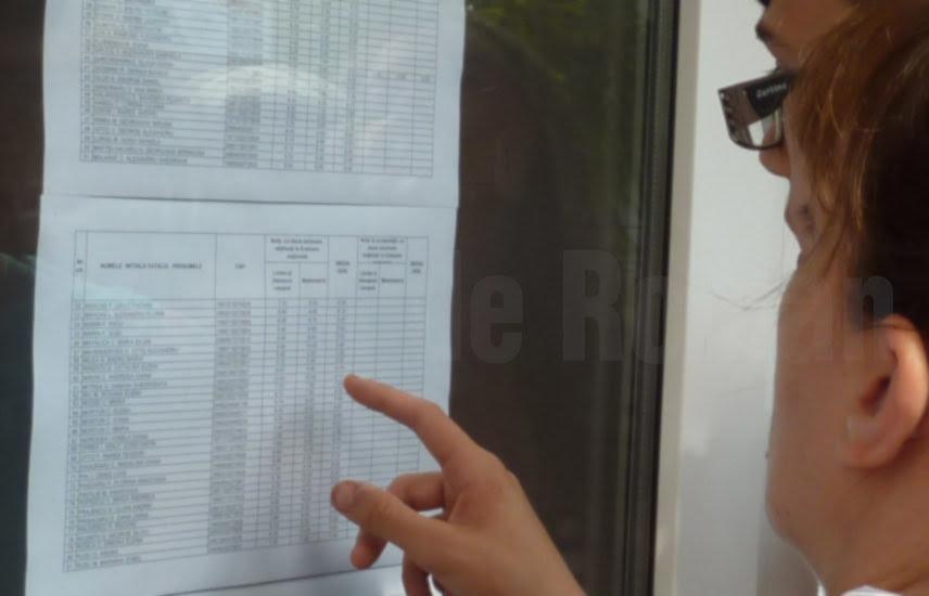 S-au afișat rezultatele repartizării computerizate la liceu. 11 candidați nerepartizați în Neamț