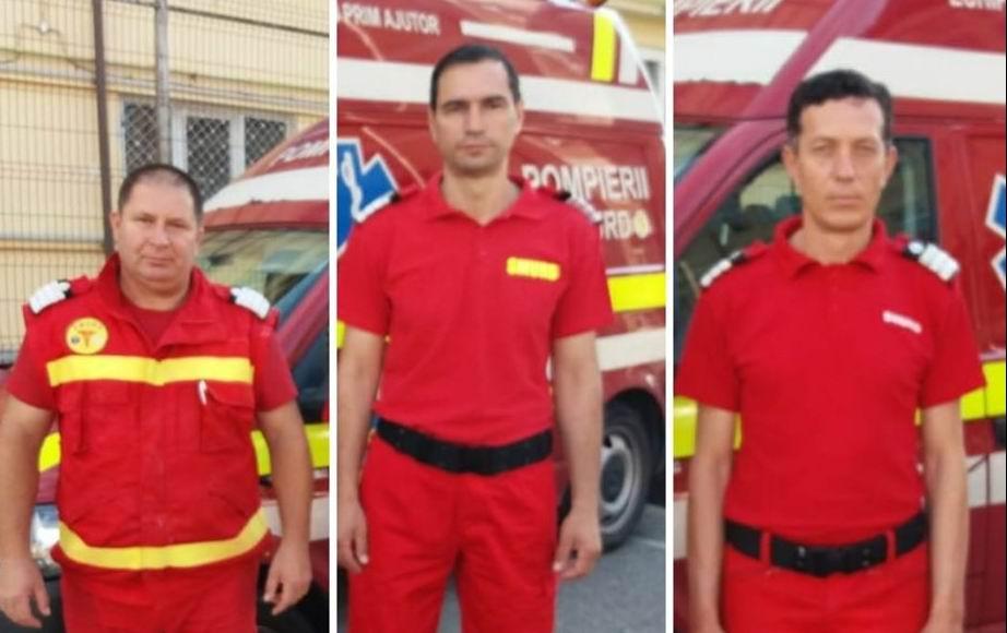 Spiritul de salvator nu dispare: incendiu la o mașină stins de paramedicii SMURD, la Horia