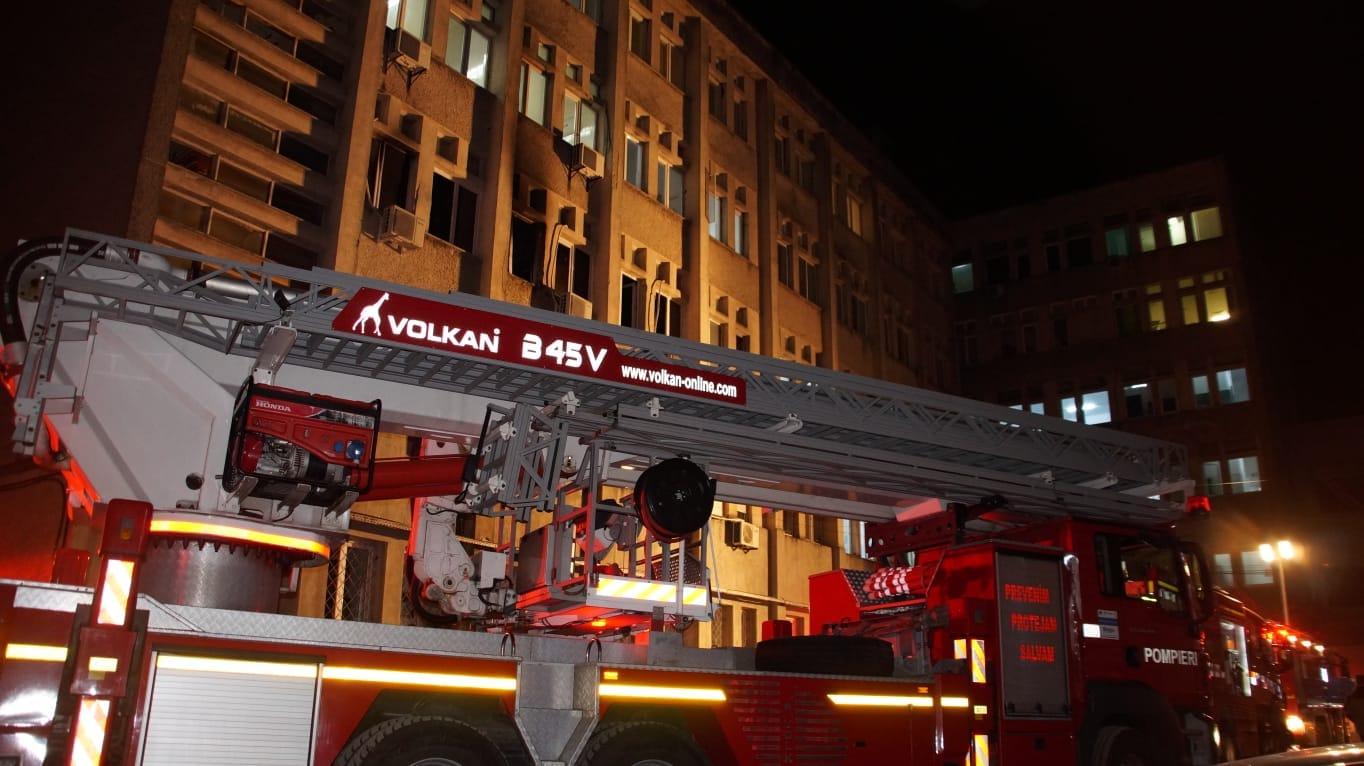 Consiliul Județean va susține refacerea urgentă a secției ATI distruse în incendiul de sâmbătă seara