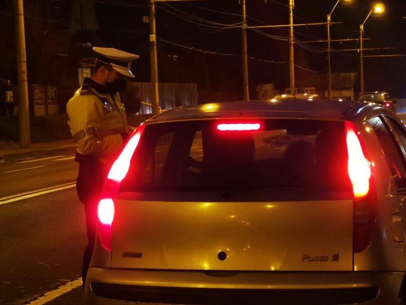 Peste 100 de șoferi au rămas fără permis din cauza vitezei, săptămâna trecută