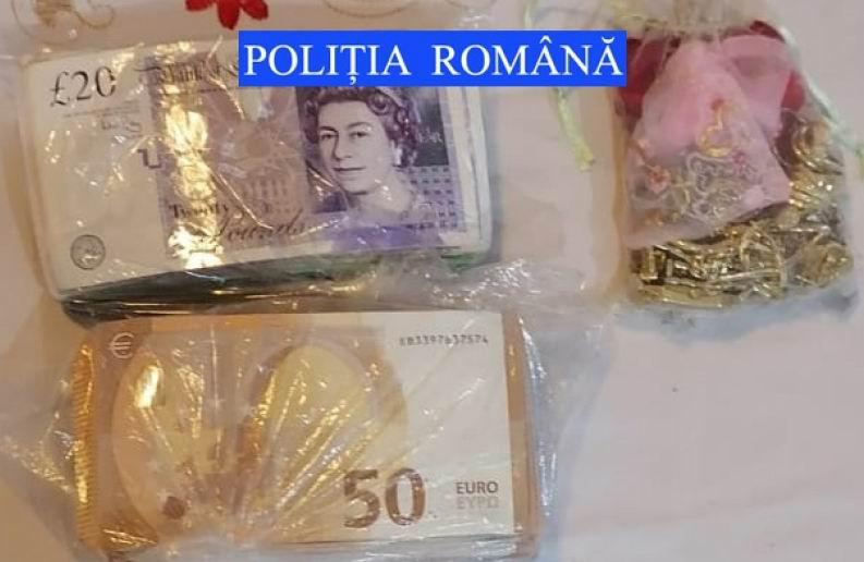 Bani și bijuterii din aur, furați din casa unei femei din Tămășeni. Autorul a fost prins la Brașov
