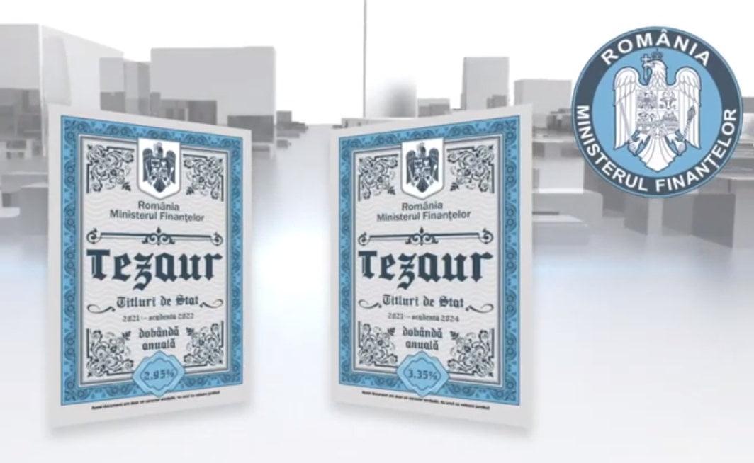 """Titlurile de stat """"Tezaur"""" pot fi cumpărate și în luna mai"""