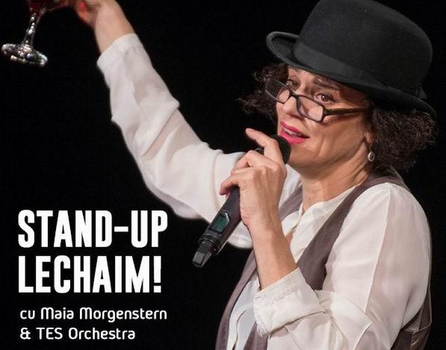 Concertul-spectacol «Stand-Up Lechaim!» cu Maia Morgenstern, la Roman în luna septembrie