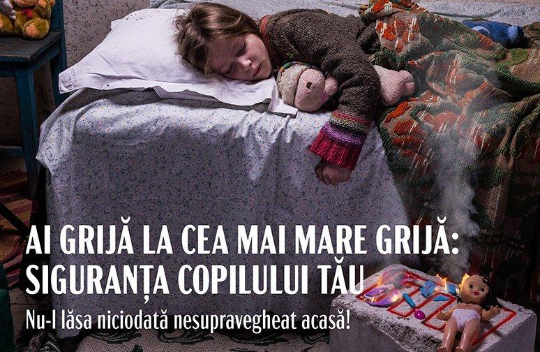 """IGSU, E.ON și Delgaz Grid lansează campania """"Ai grijă la cea mai mare grijă: siguranța copilului tău!"""""""
