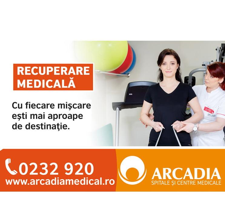 Programe de recuperare medicală complexe și individualizate la Arcadia