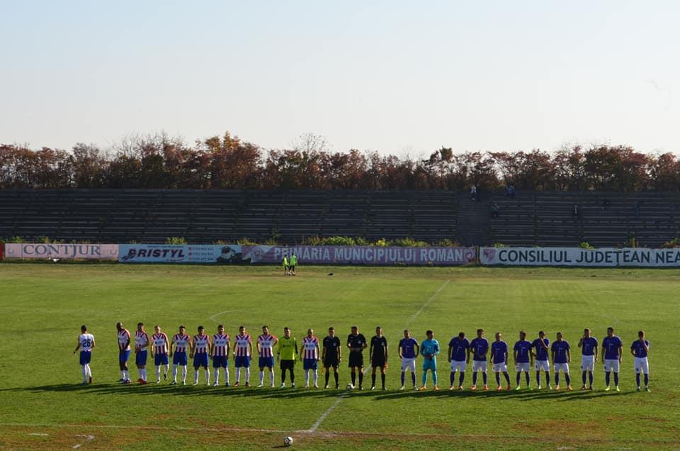 Fotbal, Liga a 3-a: CSM Roman învinge fostul lider SC Oțelul Galați