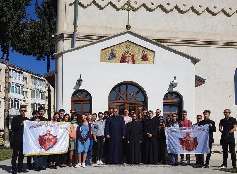 Tineri romașcani la Întâlnirea Internaţională a Tinerilor Ortodocși