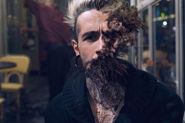 """Cal Redback e i suoi ritratti surreali di volti con piante """"innestate"""""""