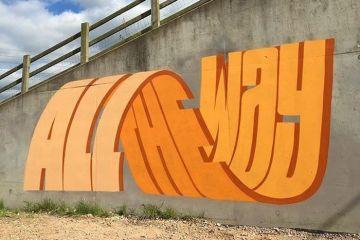 I graffiti che nascondono frasi