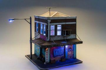 Joshua Smith riesce a riprodurre città in miniatura incredibilmente realistiche e con dettagli piccolissimi