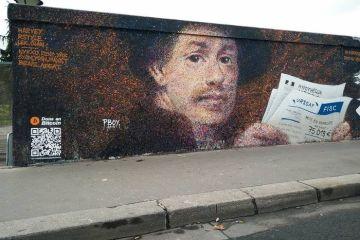 Artista di strada talentuoso ha la geniale idea di inserire nei suoi murales un codice QR per donazioni in bitcoin e la cosa ha funzionato.