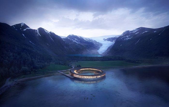 Sarà nel circolo polare artico l'hotel più ecologico al mondo e autosufficiente