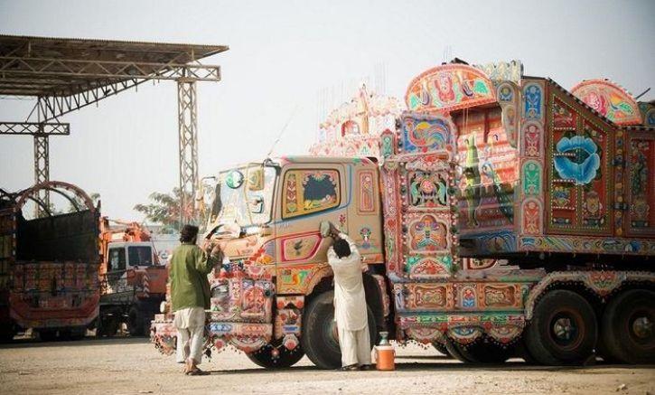 I camion Jingle del Pakistan