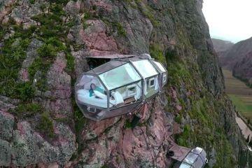 Skylodge, un hotel solo per chi non soffre di vertigini