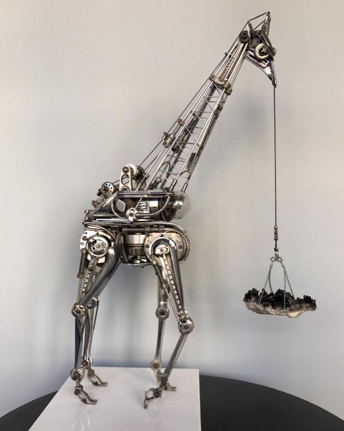 Come creare animali con l'uso di posate