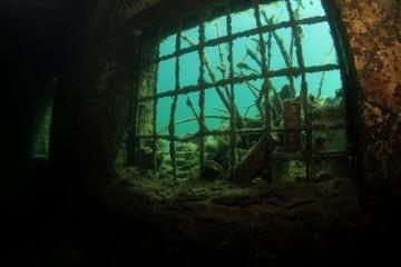 Una prigione subacquea abbandonata a Rummu, in Estonia