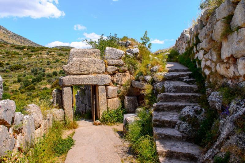 Monasteries Cliffs Greek