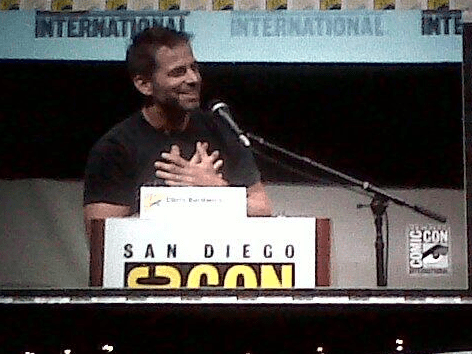 Zack snyder man of steel comic con