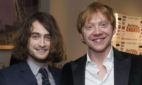 Daniel Radcliffe et Rupert Grint
