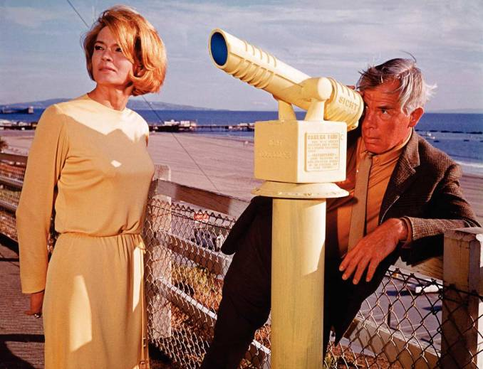 Angie Dickinson et Lee Marvin