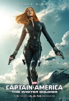 Black Widow est toujours aussi sexy pour Captain America 2
