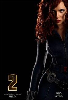 Black Widow lors de sa 1ère apparition dans Iron Man 2