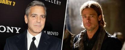 Clooney & Pitt