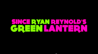 Depuis le Green Lantern de Ryan Reynold