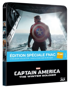 Cap america 2 Blu 3D fr fnac