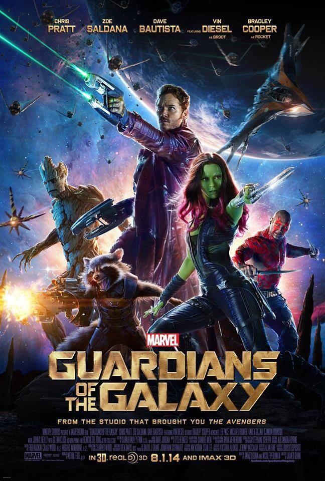 Gardiens de la Galaxie - Nouveau poster