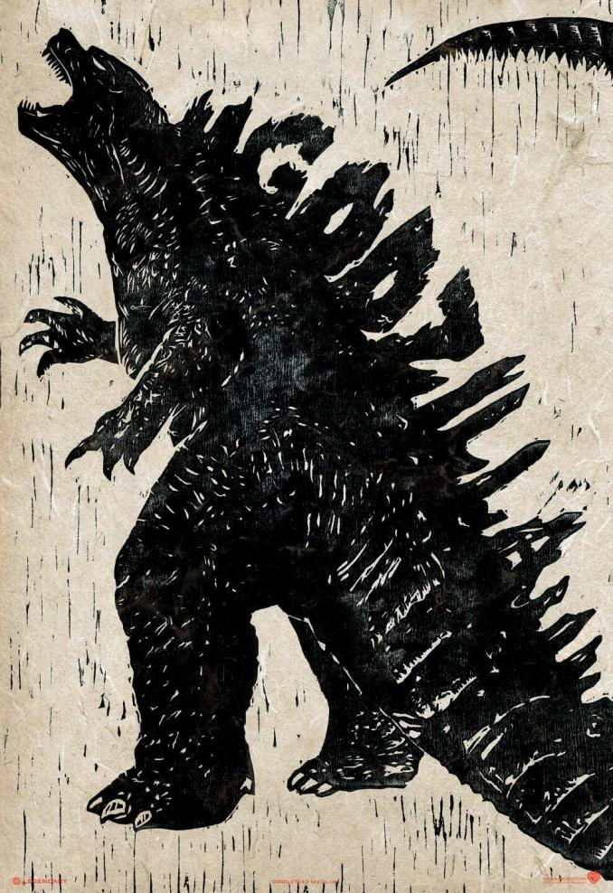 Godzilla new poster