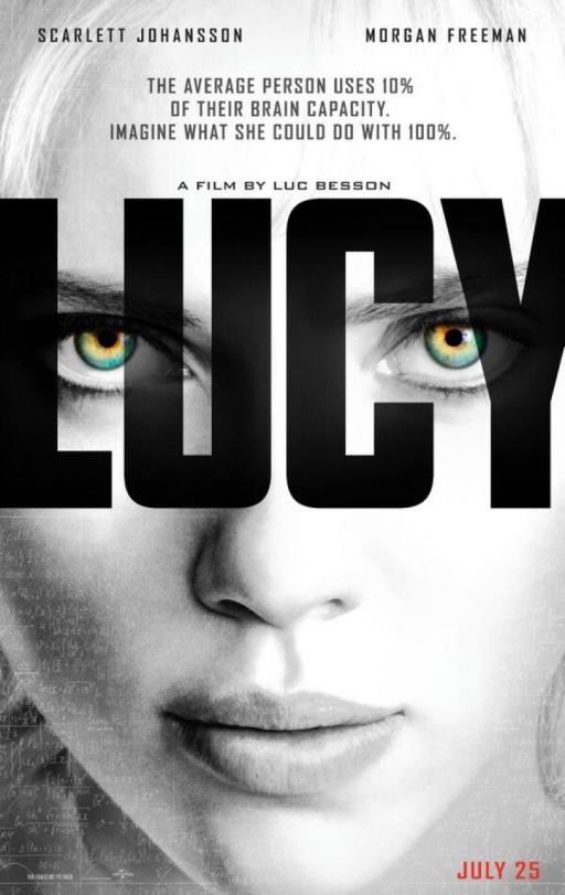 Lucy US poster