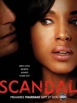 Scandal affiche