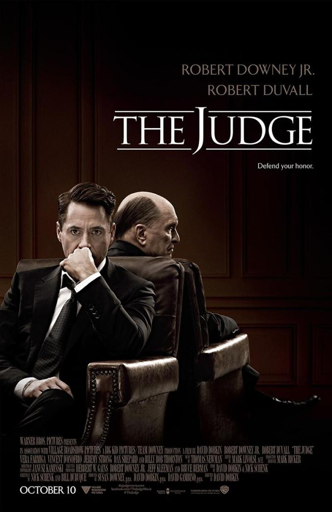 The judge poster downley jr