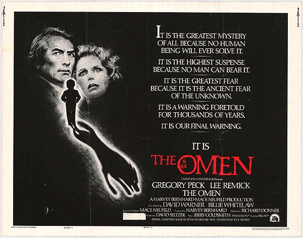 the omen original poster