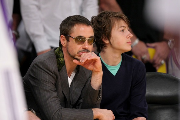 Robert Downey Jr et fils2
