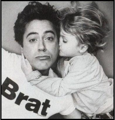 Robert Downey Jr et son fils 03