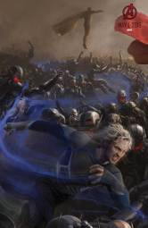 quicksilver-and-vision-avengers concept art