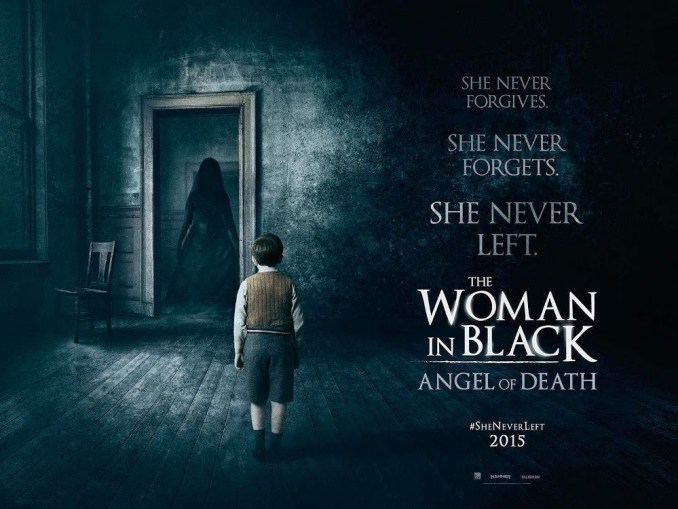 Woman in black angels of death