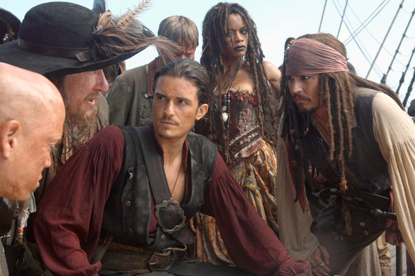 Orlando Bloom Pirates des caraibes 02
